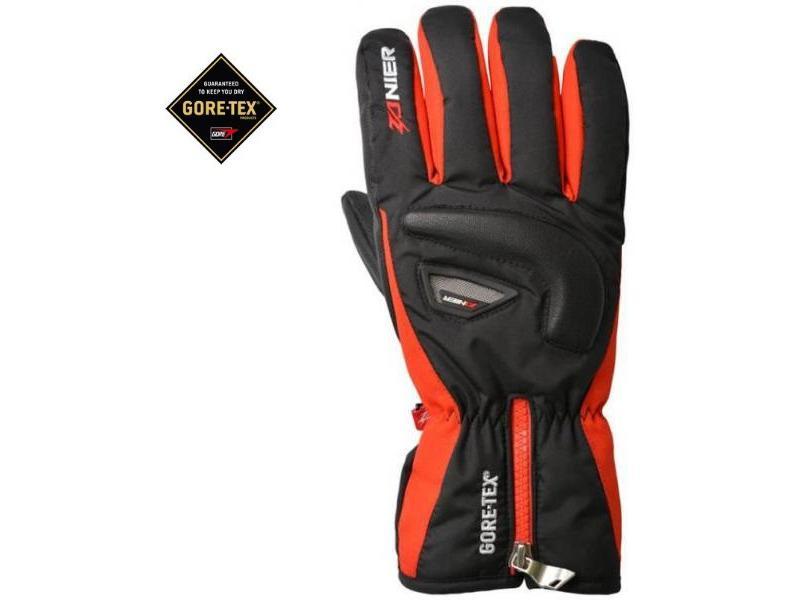 Lyžařské rukavice Zanier SÖLDEN.GXT black-red pánské  ea8cc0c530