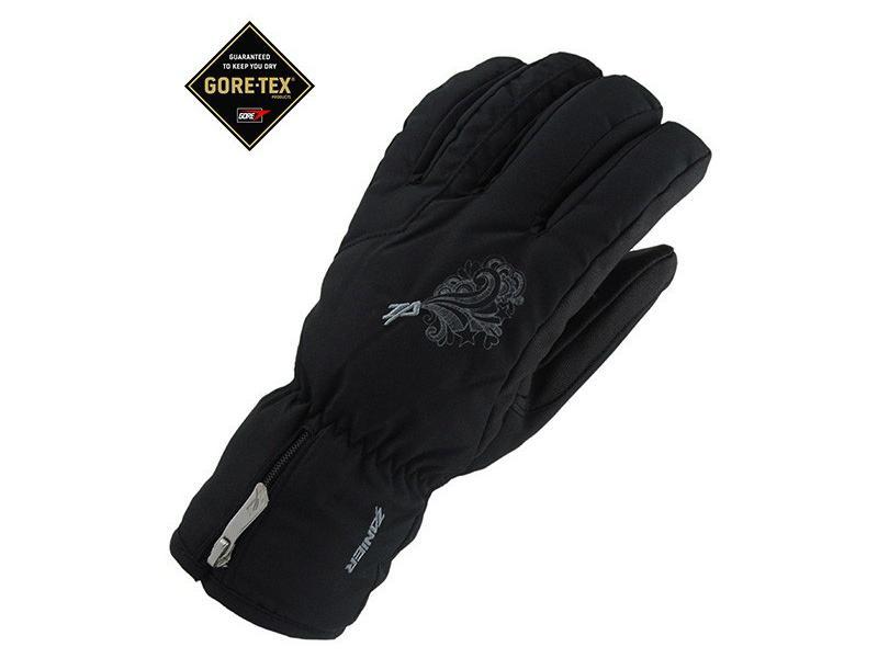 Lyžařské rukavice Zanier LANDECK.GTX černé dámské  8916285bca