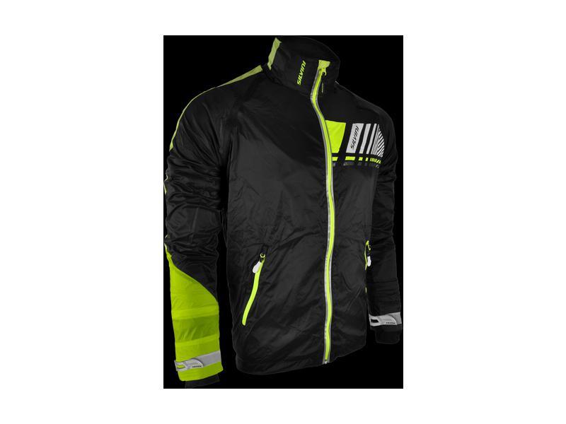 SILVINI běžecká bunda pánská OMBRONE MJ706 black-neon  eec058f7f50