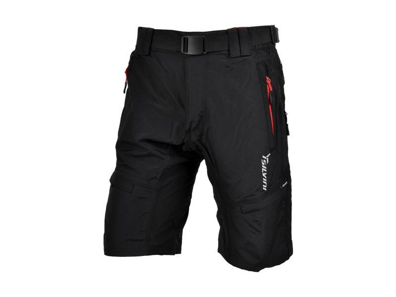 99aefaaeca2 SILVINI pánské MTB cyklistické kalhoty RANGO MP857 black-red ...