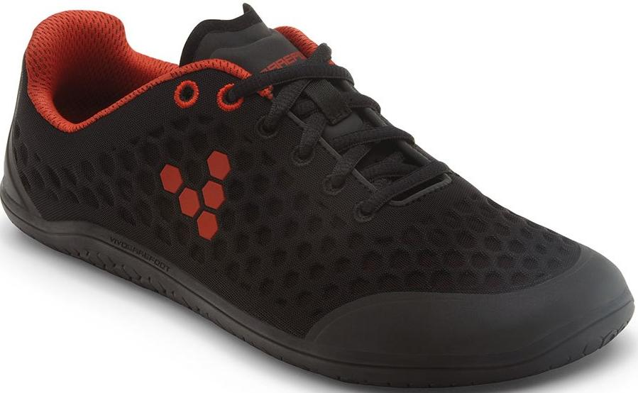Dámské boty Vivobarefoot STEALTH L BR Black Red  e77c71634a