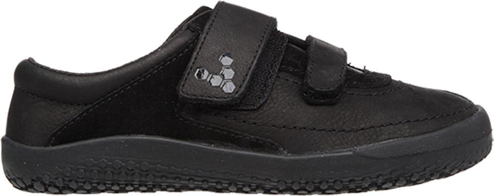 Dětské Vivobarefoot RENO K Leather Black  43d9f7d2db