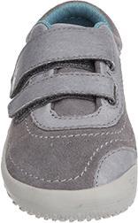 Dětské Vivobarefoot RENO K Leather Grey  e24fd1f5a4