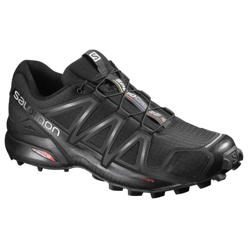 Trailové boty SALOMON SPEEDCROSS 4 BK BK BLACK L38313000 c9d01ac133