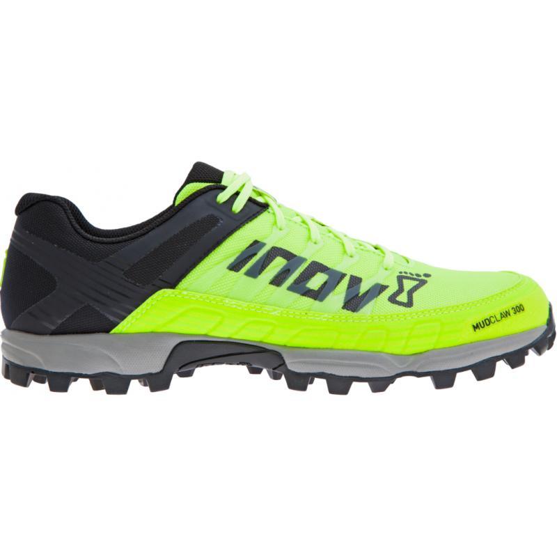 ecd7646576e Boty INOV-8 MUDCLAW 300 (P) neon yellow black grey