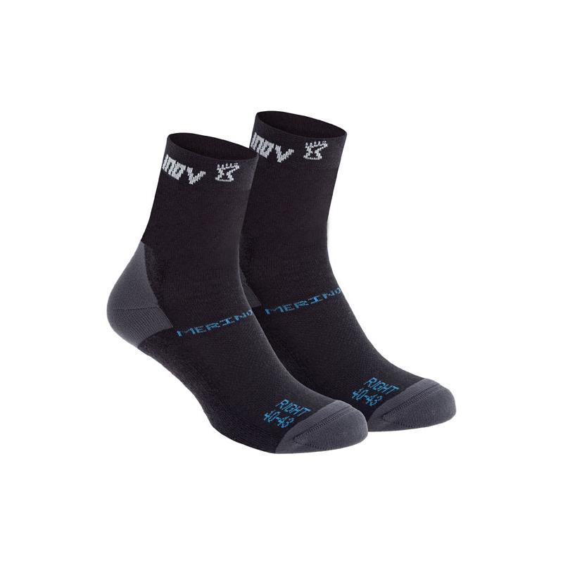 62faebae1df Ponožky Inov-8 MERINO SOCK high black