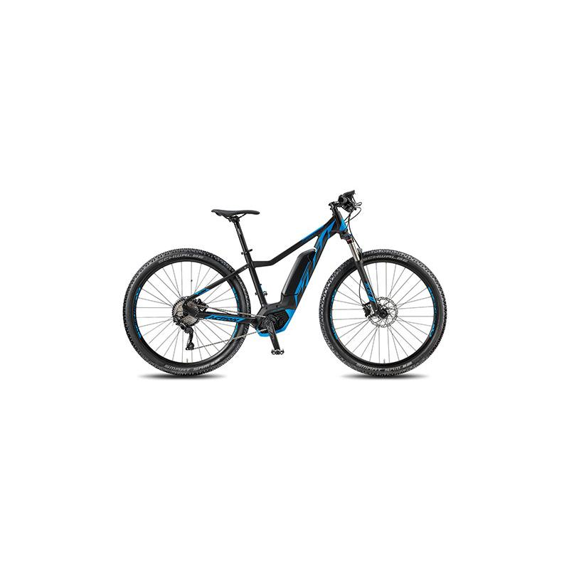 KTM Macina Action 291 2018 MATT BLACK (P-BLUE)