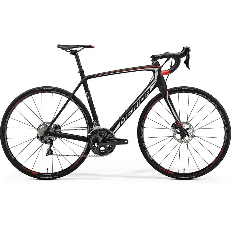 Merida Scultura DISC 6000 Matt Ud(Shiny Silver/Red) 2018