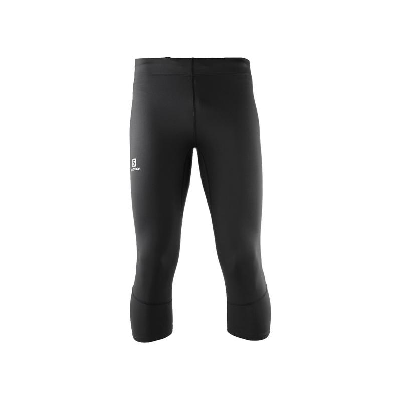 ae7338df3cb Kalhoty SALOMON AGILE 3 4 TIGHT M BLACK L40117500