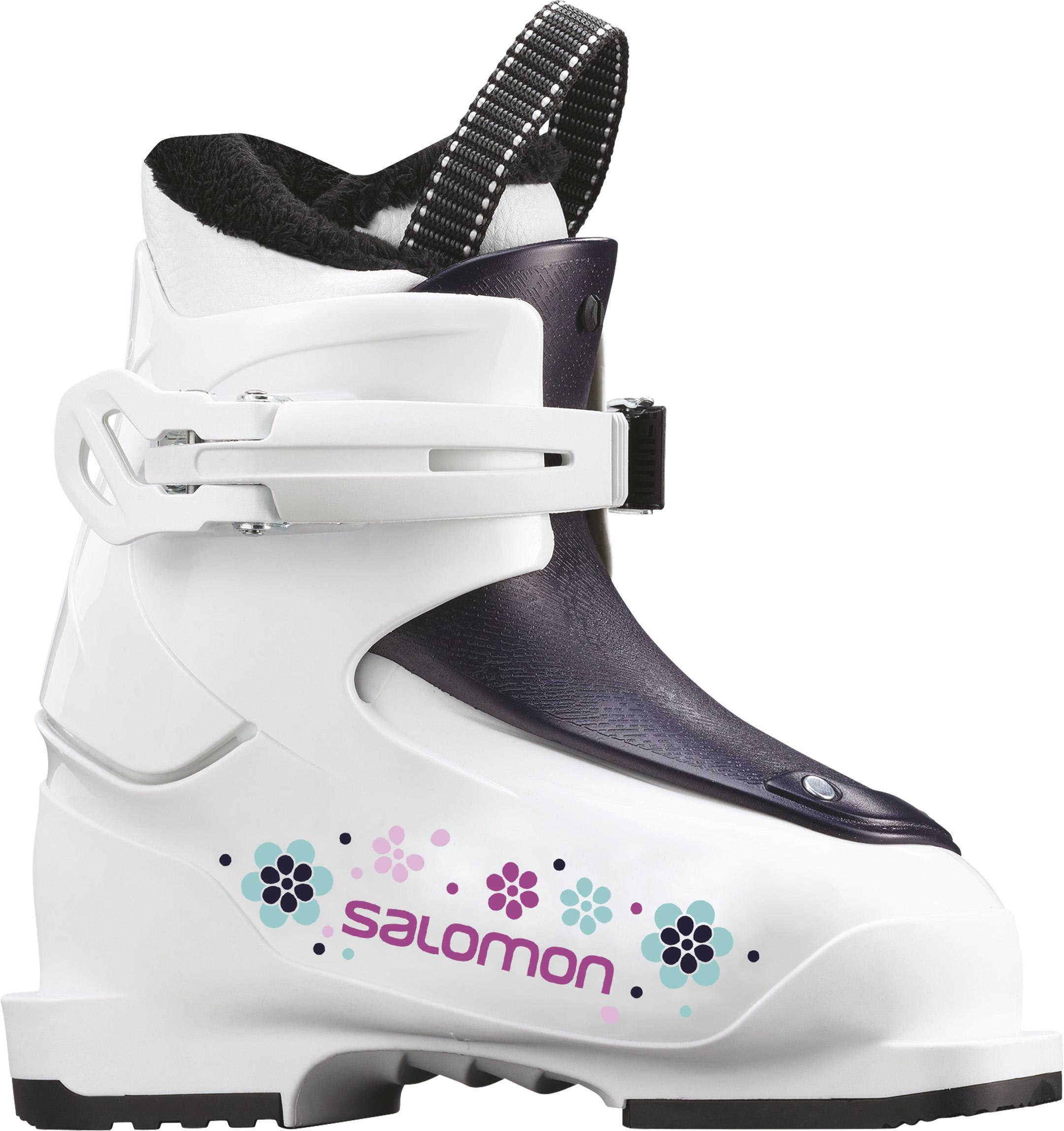 Boty Salomon T1 Girly White Rose violet tr 18 19  de5a23fadf