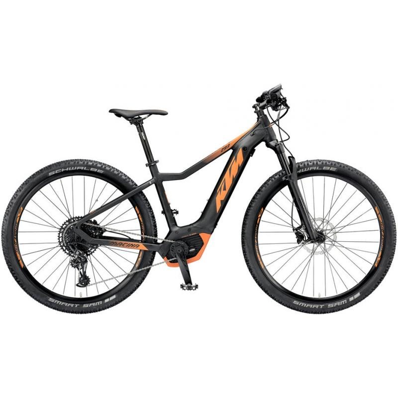 KTM MACINA RACE 293 Black matt (orange) 2019