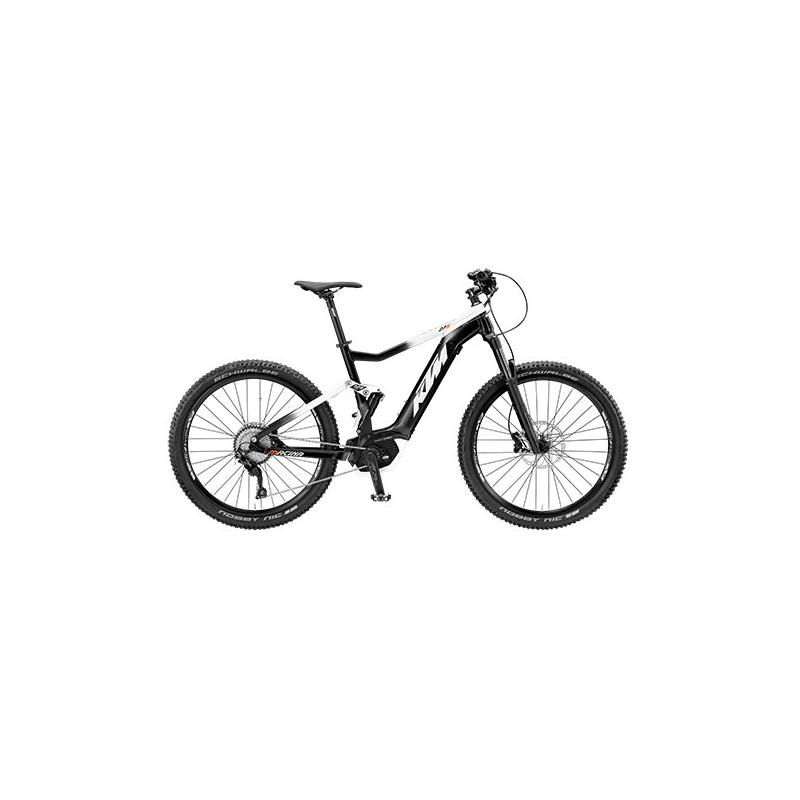 KTM Macina Lycan 275 BLACK (WHITE+ORANGE) 2019