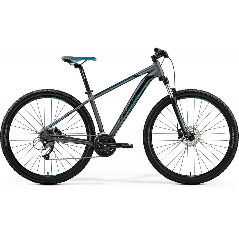 Merida BIG.NINE 40-D Matt Dark Silver(Blue/Blk) 2019