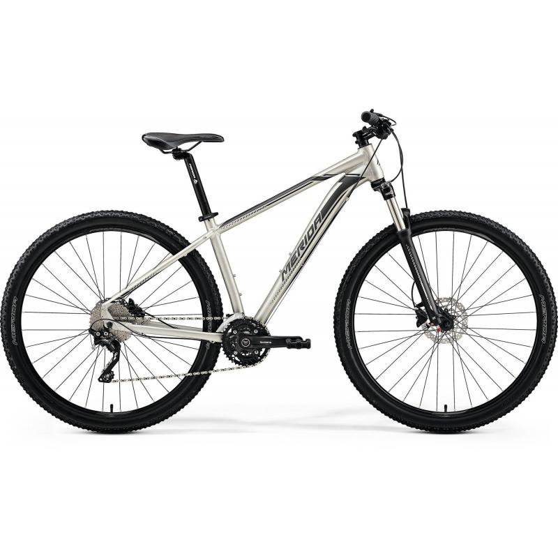 Merida BIG.NINE 80-D Matt Titan(Black/Silver) 2019