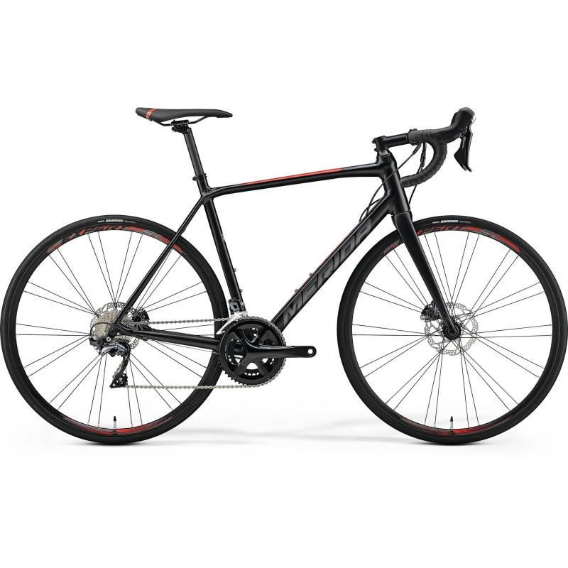 Merida SCULTURA DISC 500 Silk Black(Red) 2019