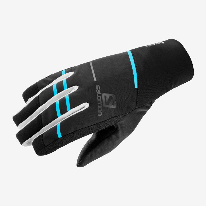 Rukavice Salomon RS PRO WS Glove U Black/White LC1185600, unisex