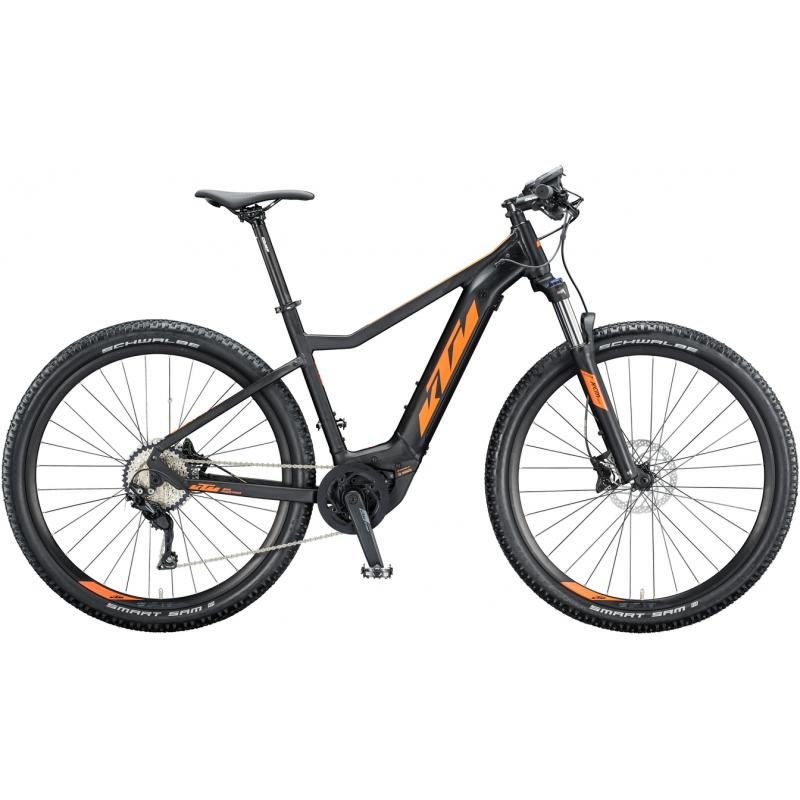 KTM MACINA RACE 291 Black matt (orange) 2020