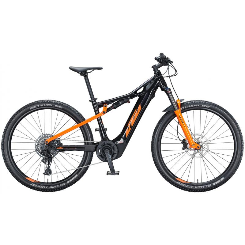 KTM MACINA CHACANA 293 metallic black (orange) 625Wh 2021